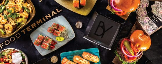 Food Terminal - Rishon Le Zion - Not Kosher - Sushi, Vietnamese & Burgers - Credit Boaz Lavie
