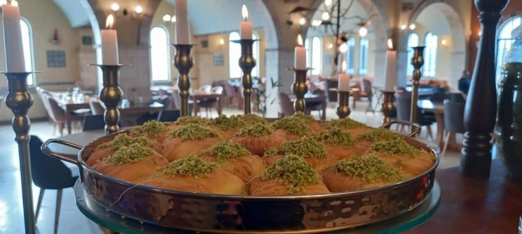 Sahara Palace - Jezreel Valley - Arabic Food - Not Kosher - Sweets
