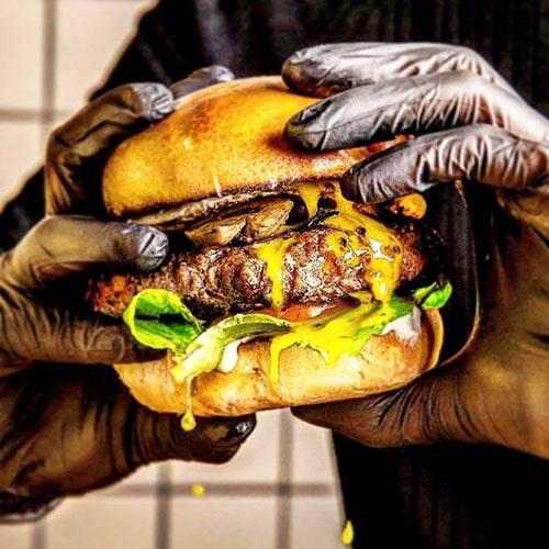 Dunya - Kosher Restaurant - Ashkelon Marina - Burger