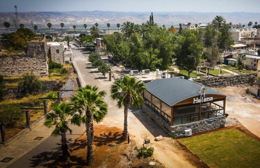 Helena - Mehadrin Meat Restaurant - Beit Shean - View of Kinneret