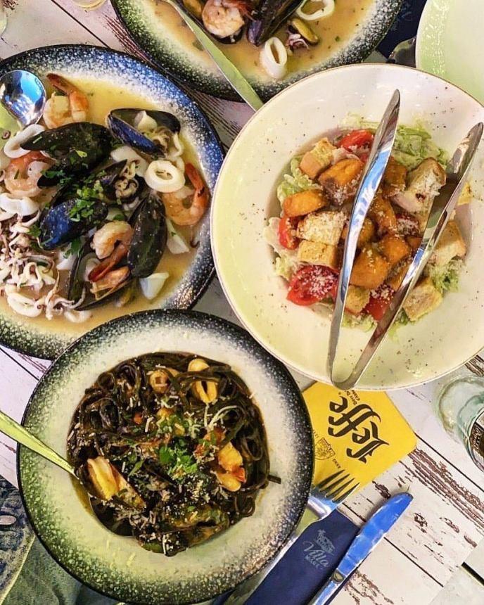 Villa Mare - Not Kosher - Tel Aviv - Bograshov Beach - Seafood