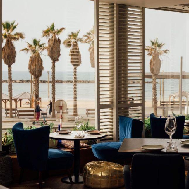 Animar Restaurant - Not Kosher - Tel Aviv - Beach View