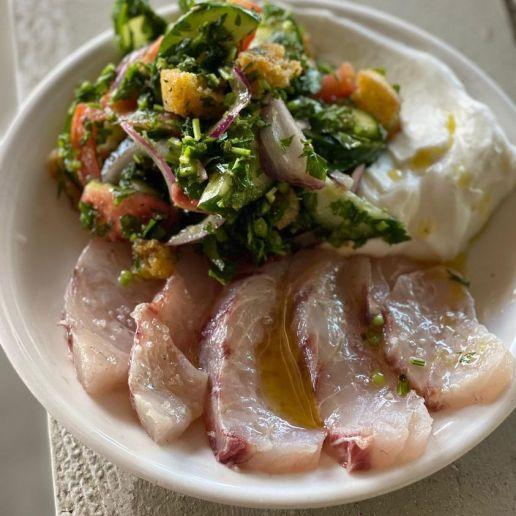 Calypso - Beach Restaurant Tel Aviv - Not Kosher - Sashimi