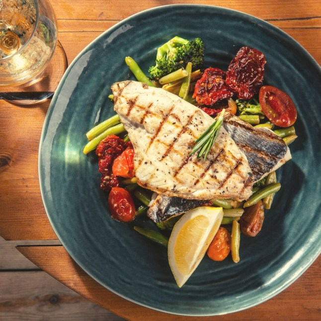 Hilton Bay - Tel Aviv Beach Club - Not Kosher - Grilled Fish