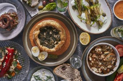 Kalamata - Not Kosher - Jaffa - Greek Restaurant - Spanakopita 2