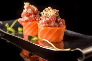 Seatara - Not Kosher - Tel Aviv - Salmon & Tuna Sushi