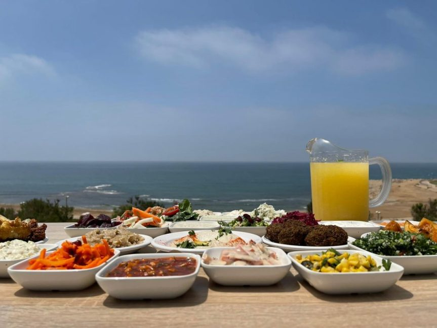 The Old Man & The Sea - Yaffo - Not Kosher - Mezze of Salads 2