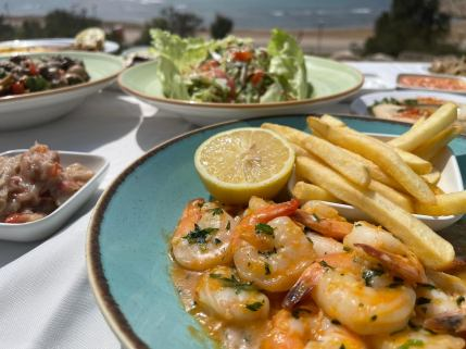 The Old Man & The Sea - Yaffo - Not Kosher - Shrimps in Garlic Butter