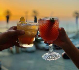 Yassou Tel Aviv - Greek Restaurant - Not Kosher - Cocktails