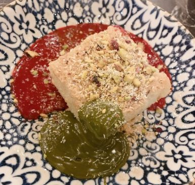 02 Jerusalem Cuisine - Inbal Hotel - Kosher - Jerusalem - Basbusa Cake