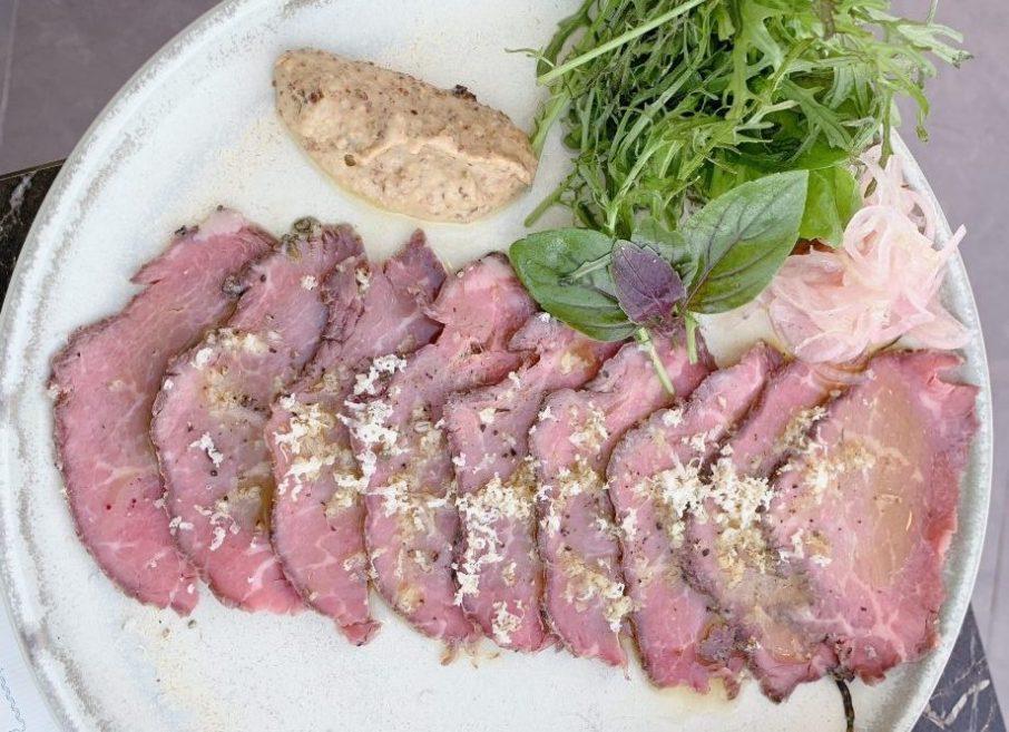 02 Jerusalem Cuisine - Inbal Hotel - Kosher - Jerusalem - Roast Sirloin