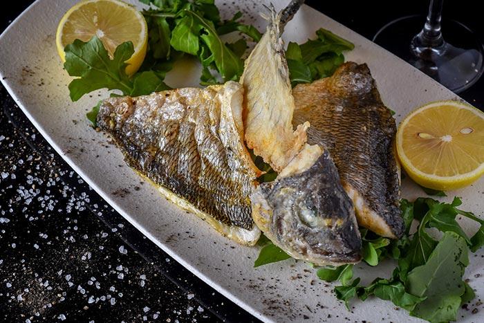 Doniana Restaurant - Akko - Not Kosher - Sea Bream Fillet