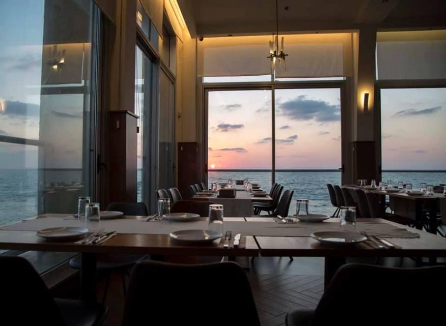 Mina Restaurant - Akko - Fish Restaurant - Not Kosher - Sunset