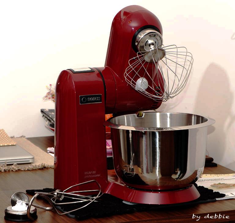 Bosch Kitchen Machine 廚師機 – Debbie's adventure 我的小天地