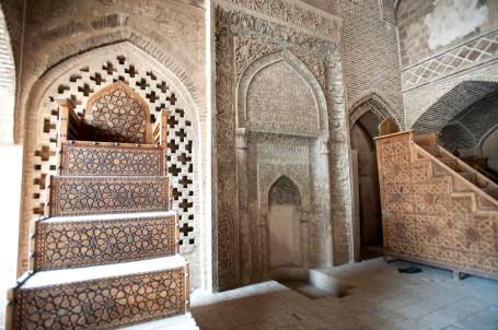 陶土做成的mihrab壁龕
