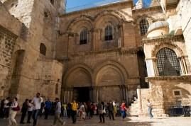 聖墓教堂(Church of the Holy Sepulchre) - 第10-14站都在這裡