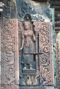 提娃坦女神的雕像