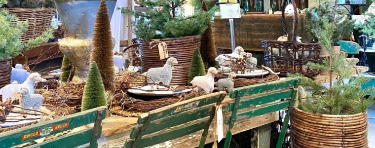 Experience The Magic Of Christmas At The French Farmer's Wife Barn Sale