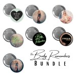 The Body Remembers Button Bundle