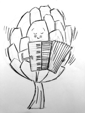 accordion-artichoke!
