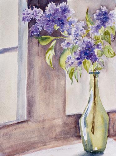 Still life by Debbie Homewood Canadian Watercolor artist