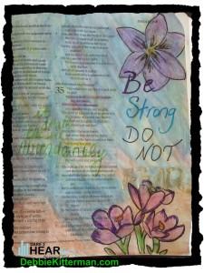 Bible journal Isaiah35