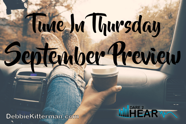 September Guests Preview &Tune In Thursday #28