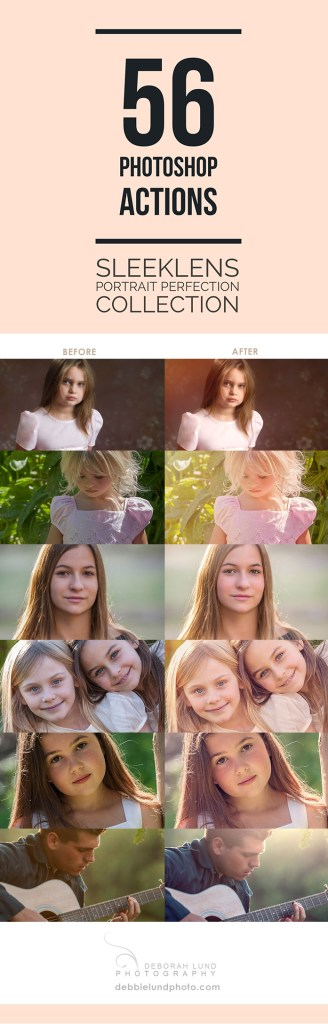 56 Photoshop Actions from Sleeklens