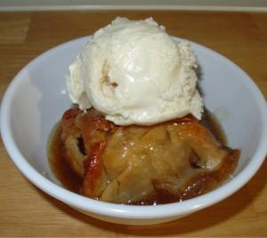 fashioned apple dumplings