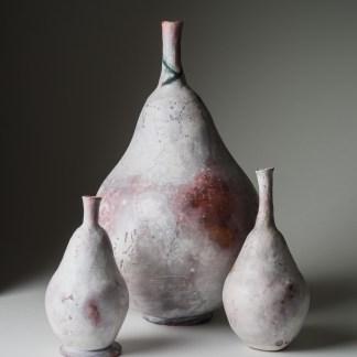 Pear shaped vessels