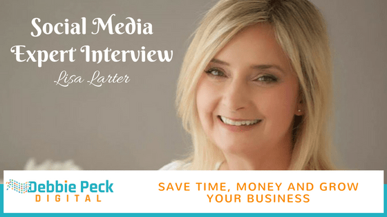 Interview with a Social Media Expert – Lisa Larter