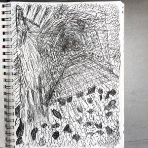 depression drawing sketches sketch drawings comforting pencil debbie urbanski