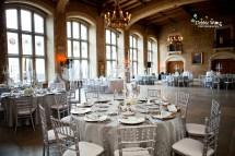 Banff Springs Hotel Silver And Crystals Wedding Calgary