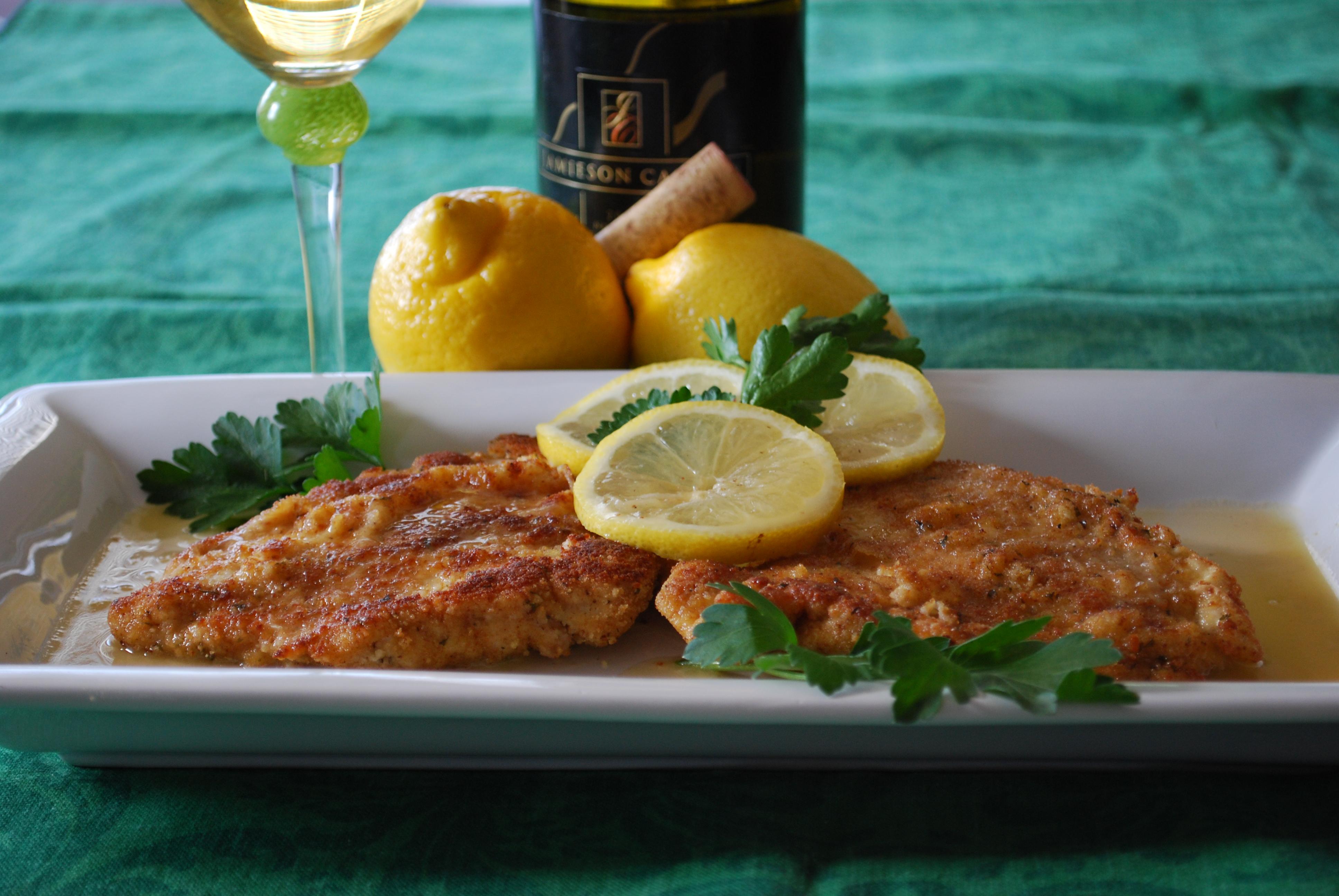 Chicken Piccata ... ready to serve