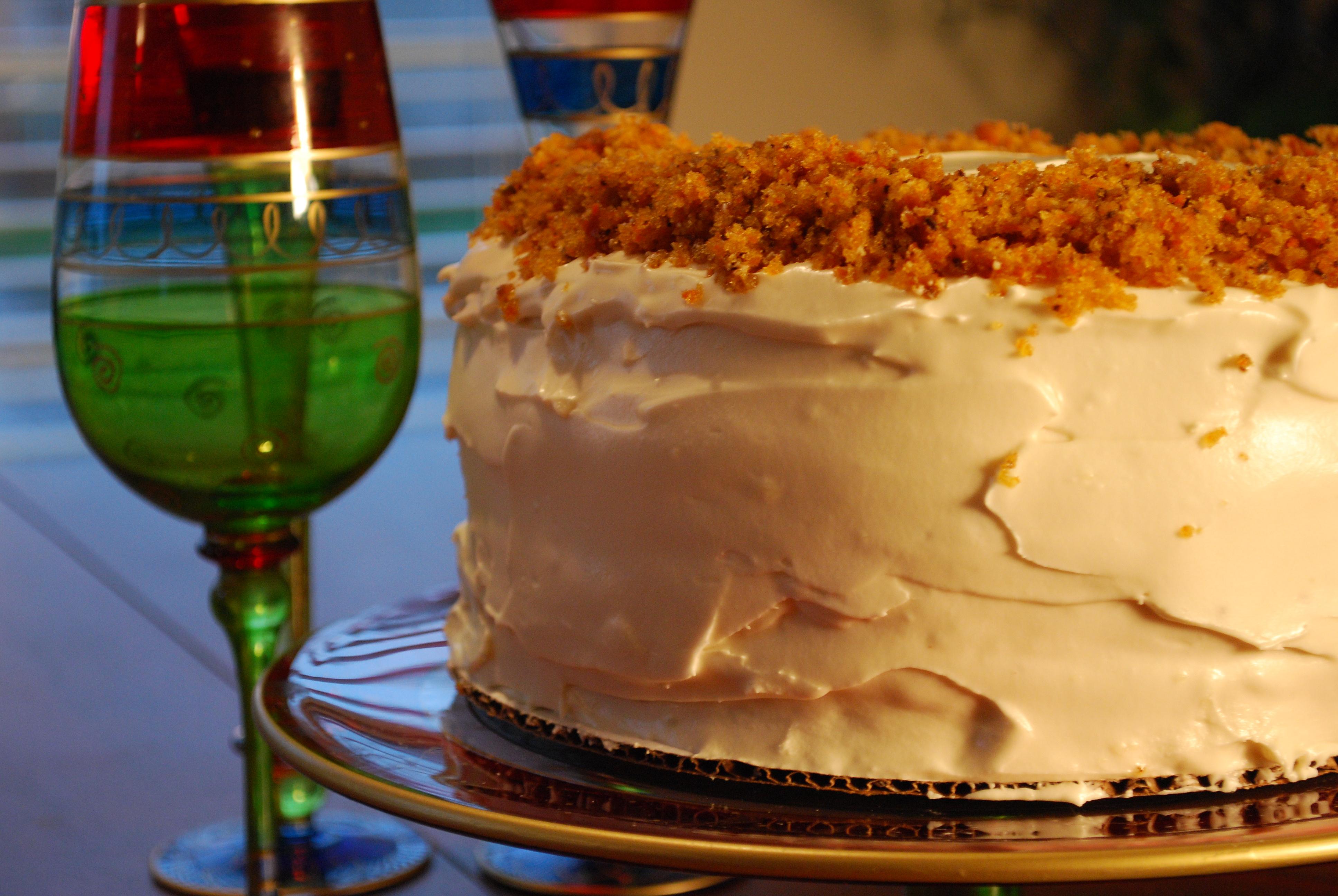 Carrot Cake Cheesecake ... inspired by Junior's Cheesecake.