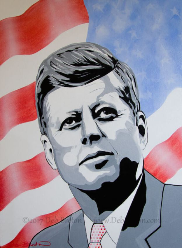 john f kennedy commissioned painting