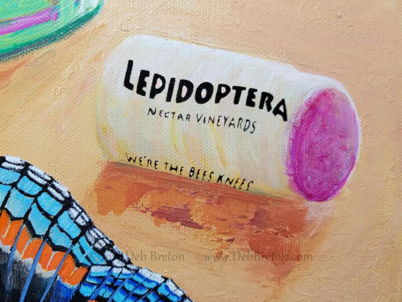 Lepidoptera Wine from Nectar Vineyards.