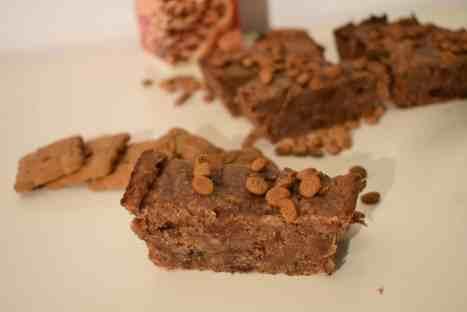 Healthy Speculaas Brownies