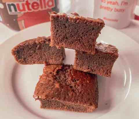 Nutella Brownies - 3 ingrediënten