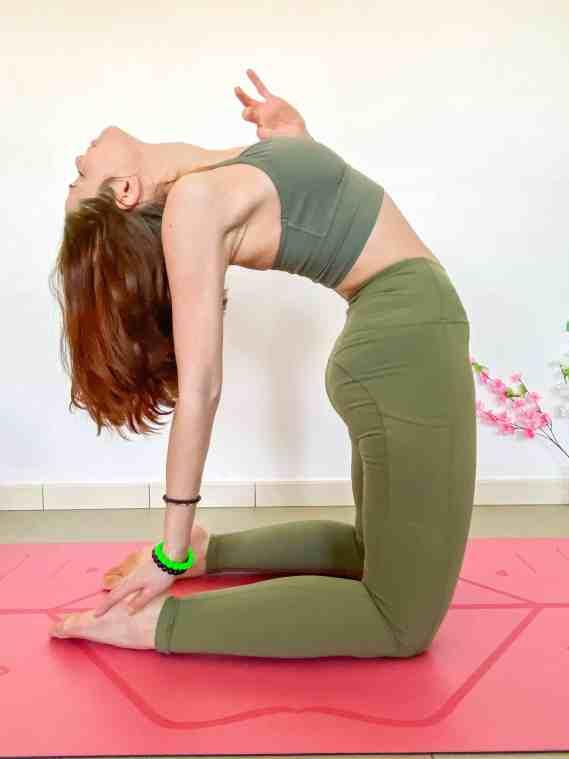 Camel Pose - Heart Opening Yoga