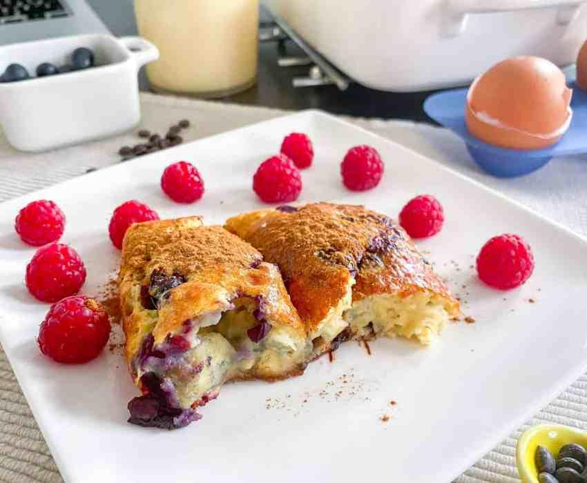 Gezond ontbijt uit de oven