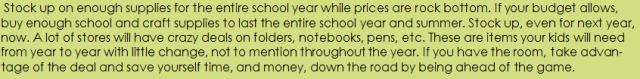 Back to school money saving tips- It's me debcb!
