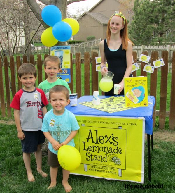 Alex's Lemonade Stand- It's me, debcb!