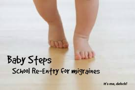 Baby Steps- It's me, debcb!