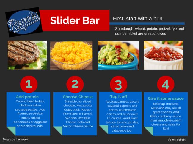 Royals Slider Bar