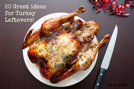 20 Great ideas for Turkey Leftovers