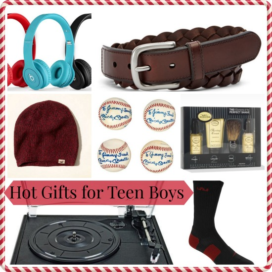 Hot Holiday Gifts for Teen Boys