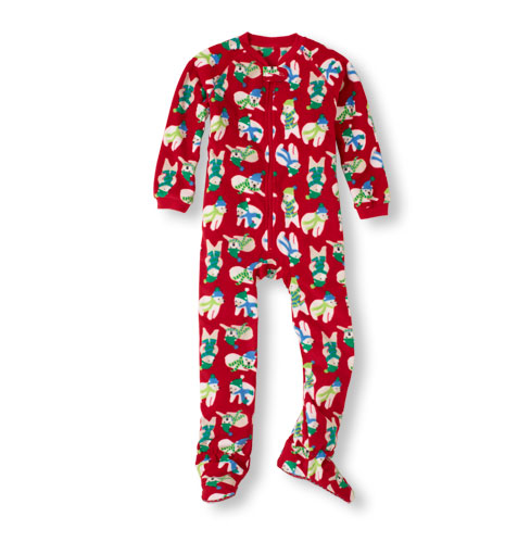 Polar Bear Microfleece Sleeper