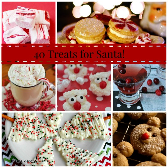 40 Treats for Santa- It's me, debcb!