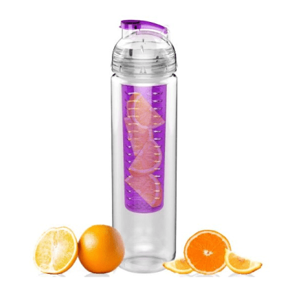 Sport Tritan Fruit Infuser Water Bottle